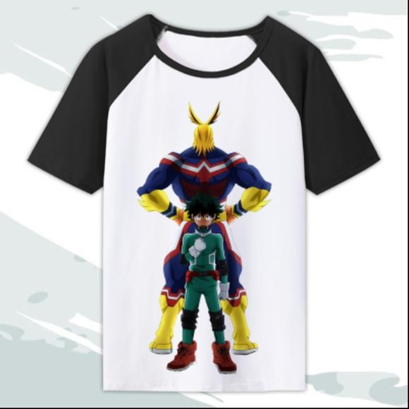 3fe4b58c3 HeroAca Shirts | My Hero Academia Tshirt All Might Midoriya 40 ...